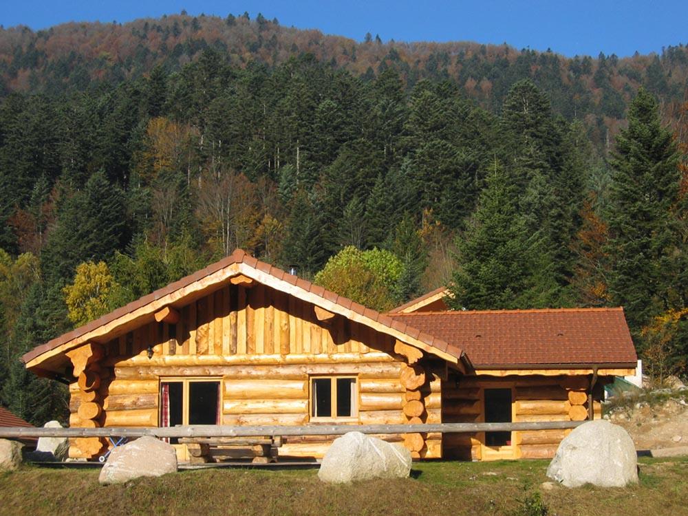 chalet en kit vosges 28 images chalet bois scandinave greenlife 169 kit version 100m2 la  # Chalet Bois Vosges