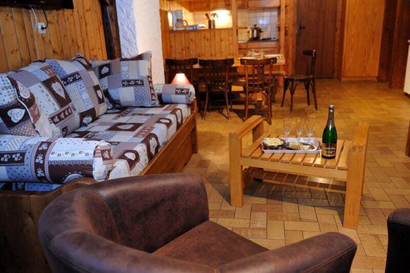 Location chalets chalet rondin ski a louer la Bresse Haute-Vosges Couaroge