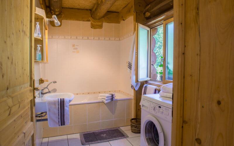Salle de bain chalet La Bresse