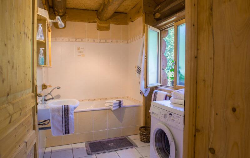 salle de bain chalet 85 m²