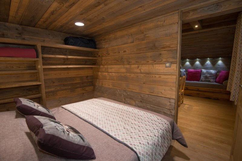 Chambre double duplex 65 m² LE MERISIER
