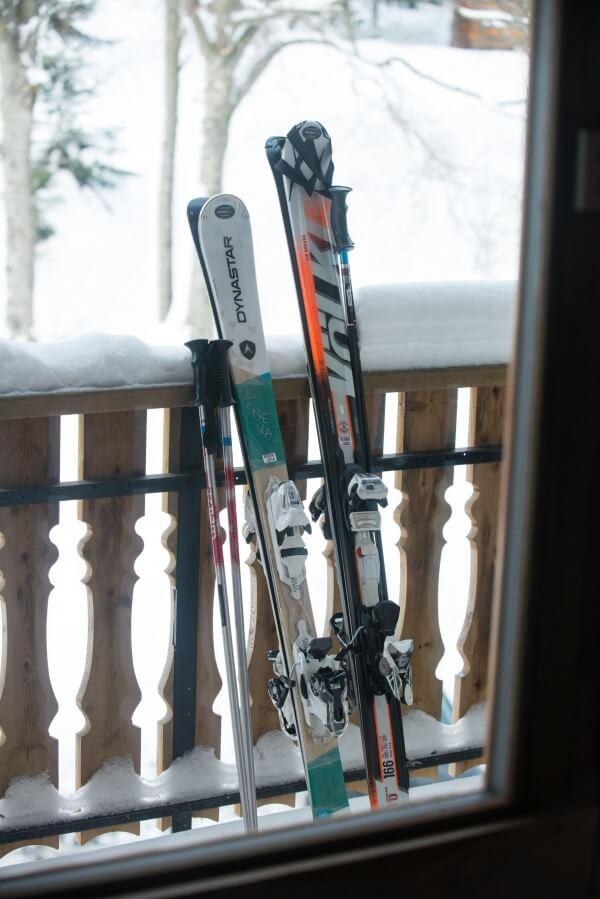boutique et location de ski sur place
