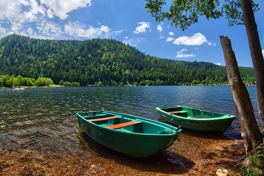 autour de l'eau lac de gerardmer peche a la ligne brochet carpe