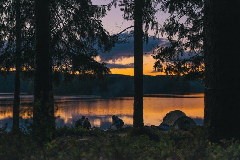 lacs de montagne camping pêche