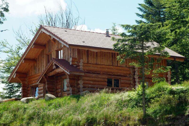 Location chalets rondins chalet rondin gites appartement ski à louer la Bresse Vosges Couaroge séminaire groupe