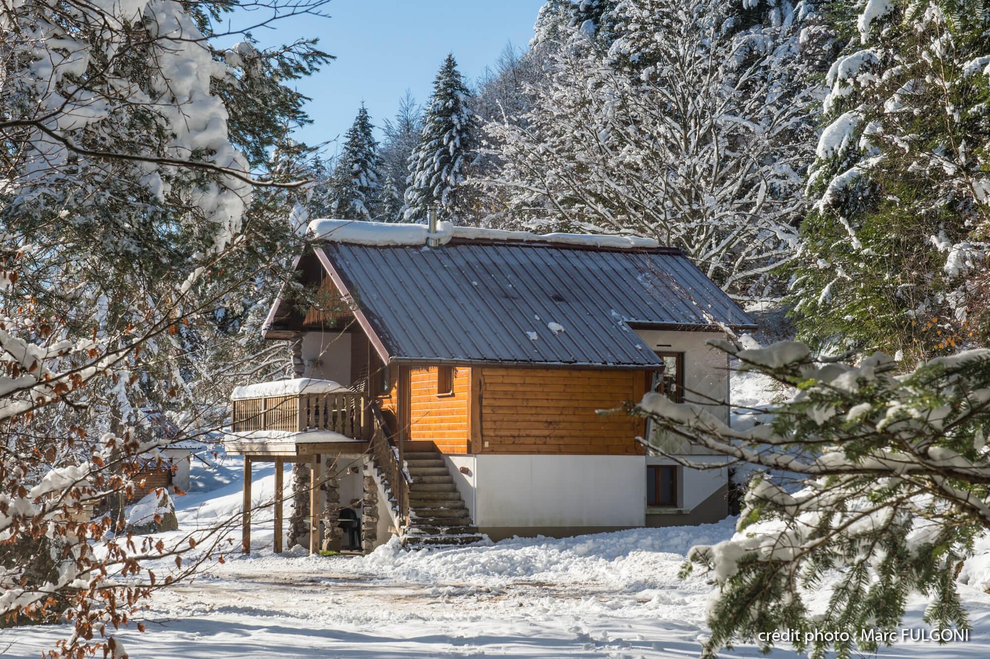 superbe chalet traditionnel en pleine forêt très calme chalet traditionnel de 8 personnes 4 chambres