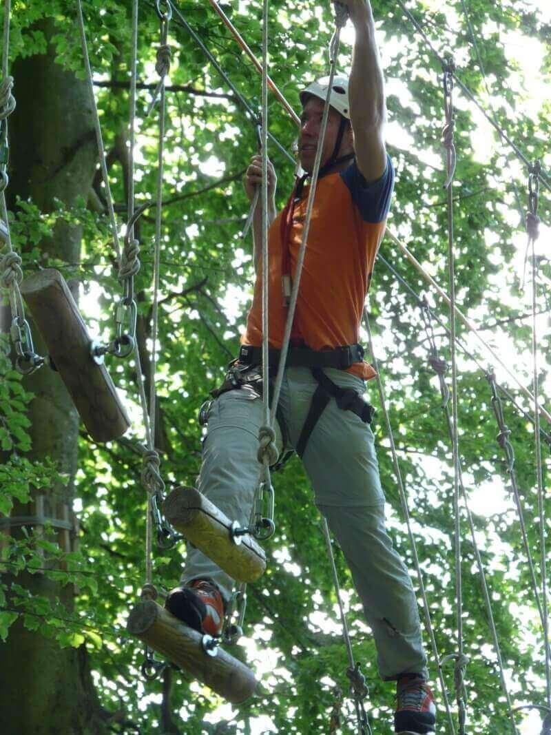 Parcours dans les arbres Bol d'Air à 4 km tarifs préférentiels