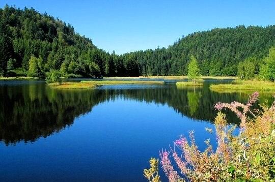 Lacs de Lispach un des plus beaux lacs de France
