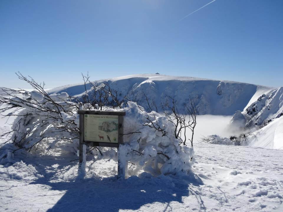 Le Hohneck en hiver