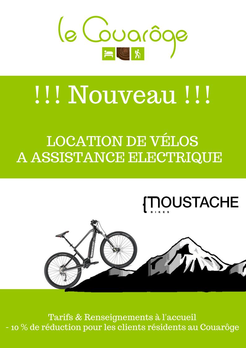 Location VTT A Assistance Electrique sur place au Couarôge La Bresse