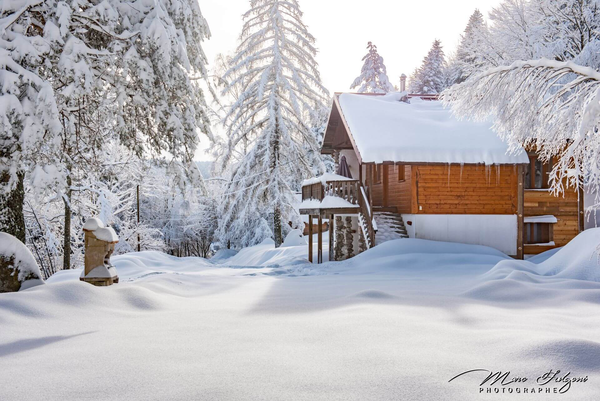 superbe chalet traditionnel 4 chambres