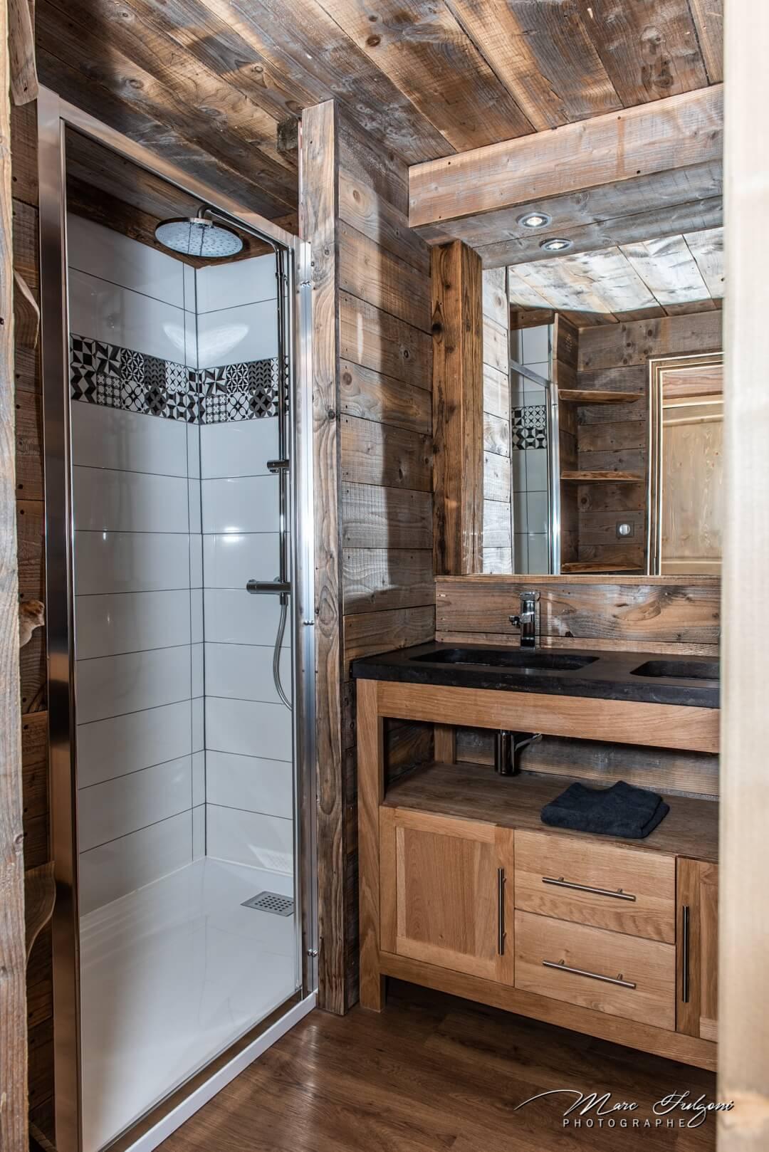 salle de bain studio La Bresse