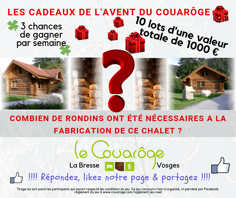 Grand jeu concours de Noël Le Couarôge